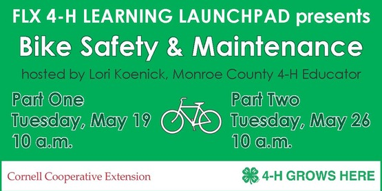 4-H Bike Safety banner