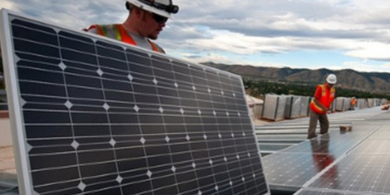 Installing Solar Array