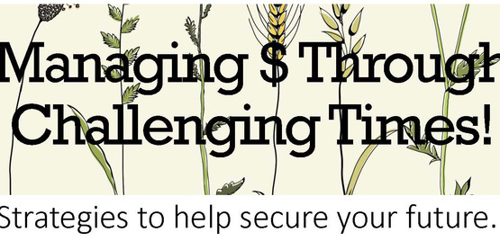 Managing Money through Challenging Times logo