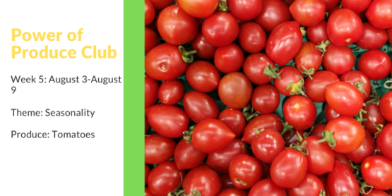 Power of Produce Club: Week 5