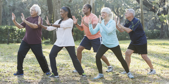 Tai Chi paid stock photo