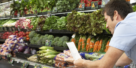 Always prepare a shopping list. This will help you stick to nutritional foods.