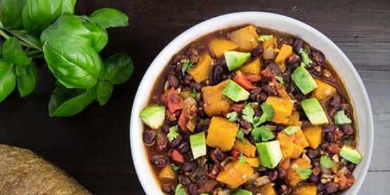 butternut black beans image