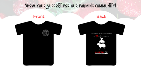 Tshirt sales to support AG