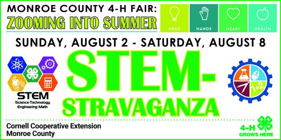 4-H STEM-stravaganza Week banner