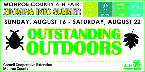 4-H Outstanding Outdoors Week banner