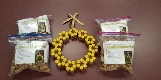 4-H Recycled Cork Sunflower Kit