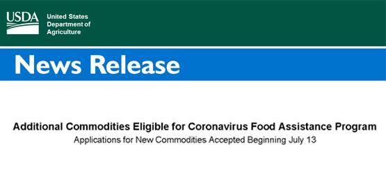USDA Coronavirus Food Assistance Program