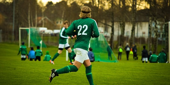 Healthy Teen Soccer Sport Athlete