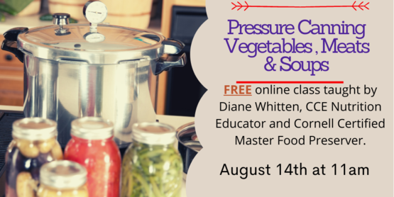 Pressure canning event