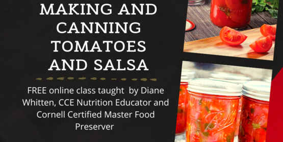 canning tomato and salsa event