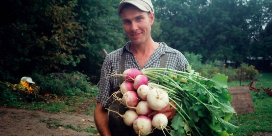Brent Welch of Red Tail Farm, Trumansburg NY