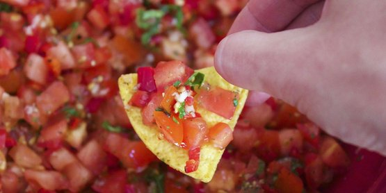 Salsa on a chip