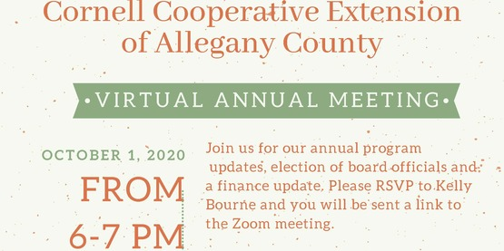 Annual Meeting Flyer