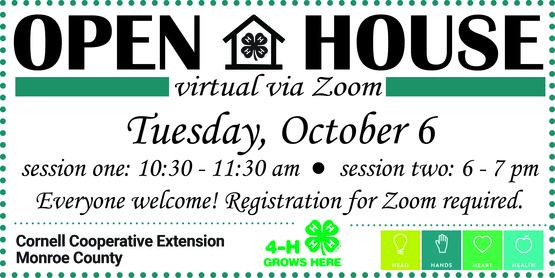 2020 4-H OPEN HOUSE BANNER