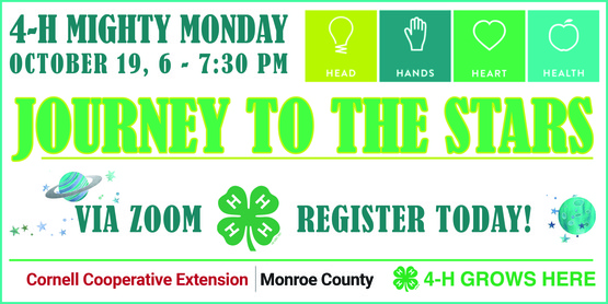 4-H Mighty Monday Journey to the Stars