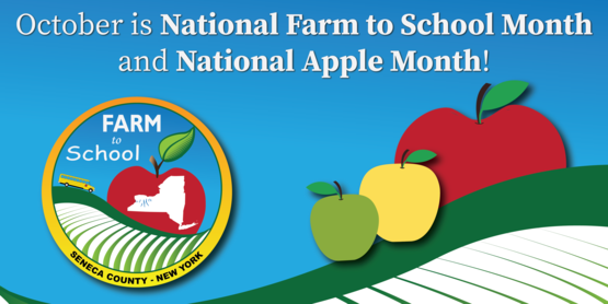 National Farm to School Month and National Apple Month