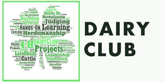 4-H Dairy Club Banner