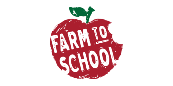 Farm to school logo screenshot.