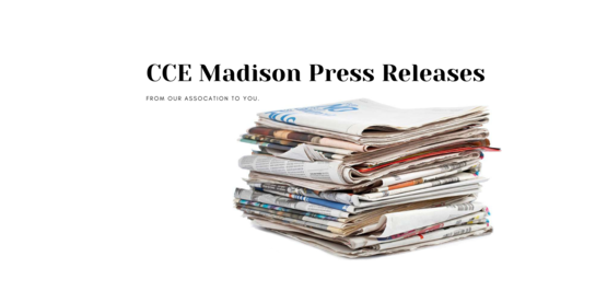 CCE Madison Press release