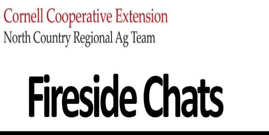Fireside Chat North Country Agriculture Team