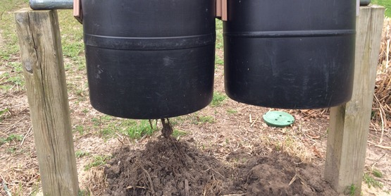 DIY compost bins cutchogue east elementary
