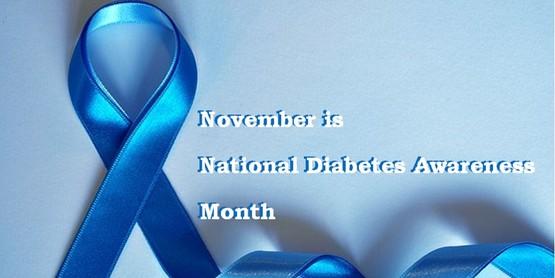 diabetes awareness ribbon