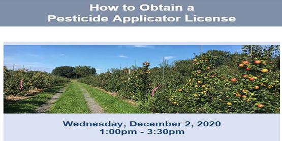How to Obtain Pesticide Applicator License