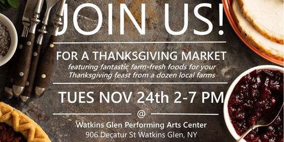 Thanksgiving popup flyer
