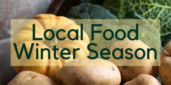 local food winter season