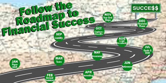 Follow the roadmap to financial success