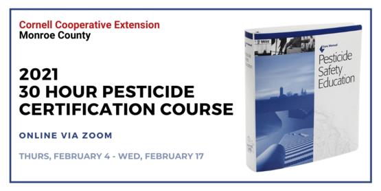 30 Hour Pesticide Applicator Certification Course 2021