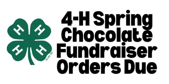 Spring fundraiser