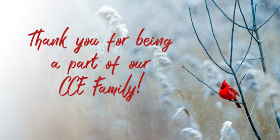 Thank you for being a part of CCE.