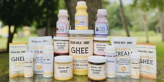 Indian Milk & Honey
