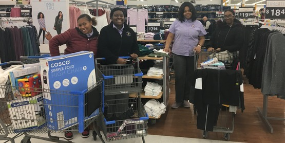 Albany Youth CAN shopping for DCYF Adopt-a-Family