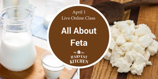 event banner for feta making workshop