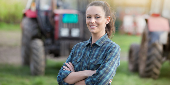 women tractor safety