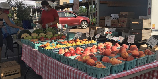 Oneida County Public Market Saturdays 9-1.