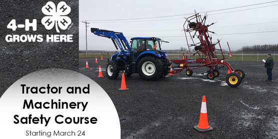 CCE Seneca County 4-H Tractor and Machinery Safety Course
