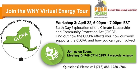 Join us this month, on April 22, 6 to 7pm via zoom to Take a Deep Dive into An Energy Audit. This is an opportunity to learn more about energy audits in your home or business, including what to expect, what does an audit cover and why are they so important?