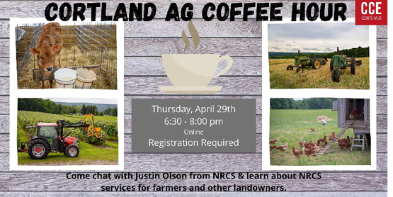 Coffee Hour NRCS Services for Farmers