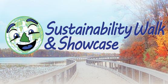 Sustainability Walk and Showcase banner