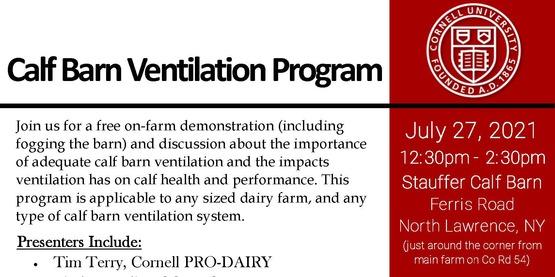 calf ventilation