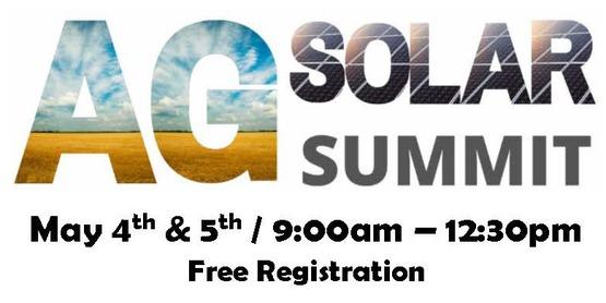 banner for Ag & Solar Summit 2021