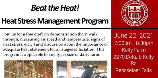 Heat Stress Management Program