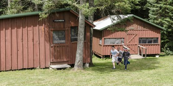 4-H Camp Owahta Bunk House running