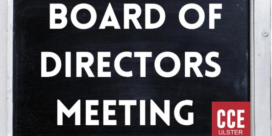 Board of Directors Meetings