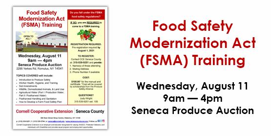 FSMA Training 2021