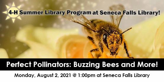 4H Seneca Falls Library Perfect Pollinator